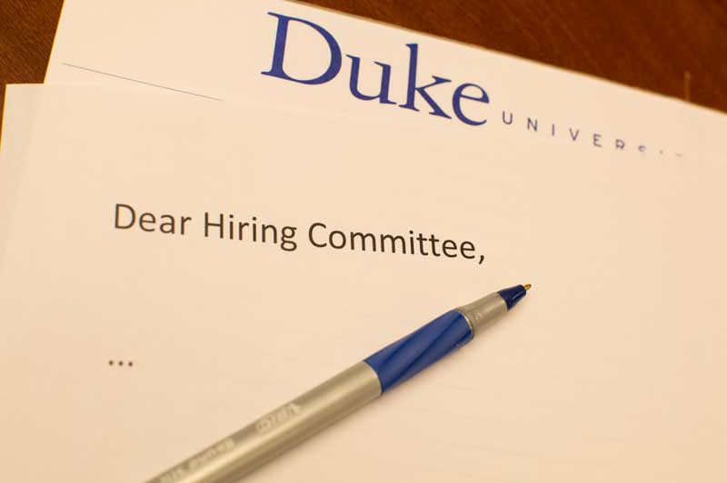 The Art of the Academic Cover Letter – Versatile Humanists at Duke