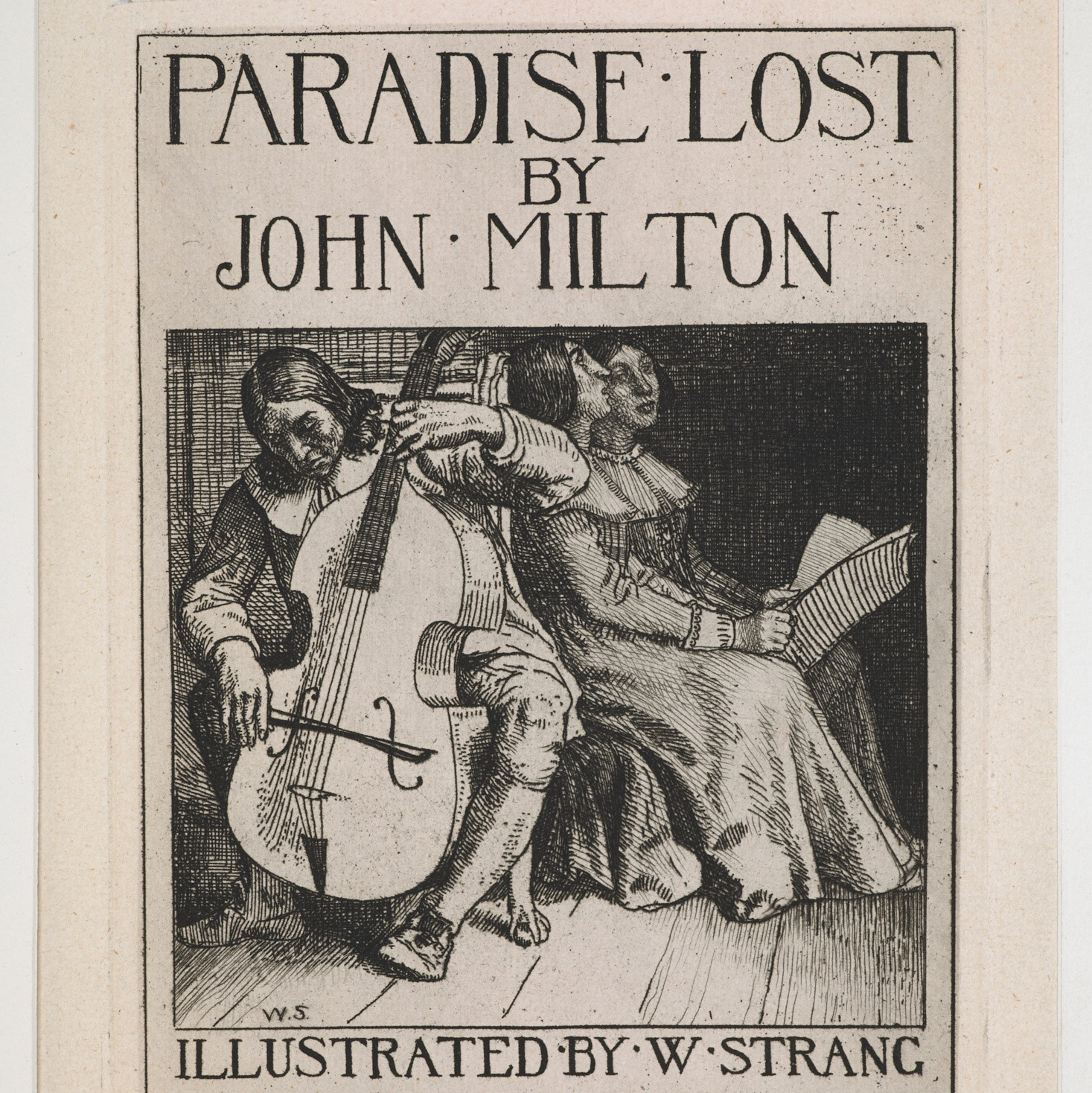 Frontispiece of Paradise Lost