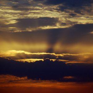 dramatic cloudscape